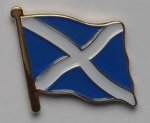Scotland Country Flag Enamel Pin Badge